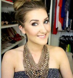 My Favorite Summer Bronze Makeup Tutorial & OOTD - MakeupByTiffanyD