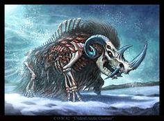 Undead Arctic Creature by VegasMike.deviantart.com on @DeviantArt