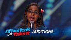 Arielle Baril: Heidi Klum Hits Golden Buzzer for 11-Year-Old Opera Singer - America's Got Talent