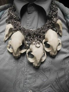 Skull necklace                                                                                                                                                                                 More