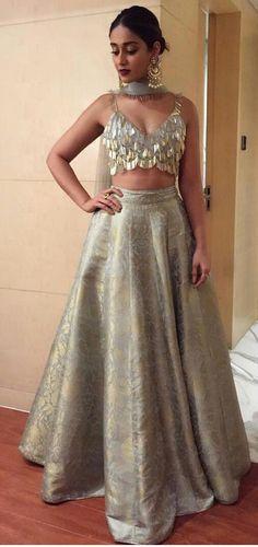 indian fashion Traditional -- CLICK Visit link above for more info Brocade Lehenga, Indian Lehenga, Indian Gowns, Indian Attire, Indian Wear, Anarkali, Bollywood Lehenga, Sari, Indian Wedding Outfits