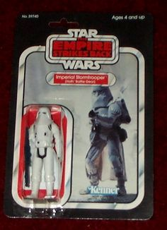 Kenner Empire Strikes Back Action Figure - Imperial Stormtrooper Hoth Battle Gear
