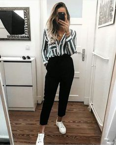 50 Amazing Casual Work Attire to Wear This Winter outfits fo. 50 Amazing Casual Work Attire to Wear This Winter outfits for winter comfy Work Fashion, Cute Fashion, Womens Fashion, Fashion Styles, Fashion Fashion, Fashion Ideas, Fashion Inspiration, Fasion, Fashion Casual