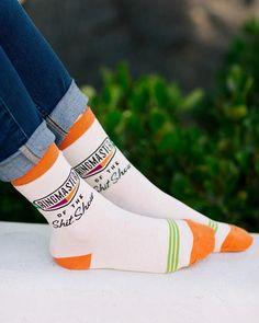 Ringmaster of Shit Show Socks Blue Q Socks, Cool Socks, Awesome Socks, Floral Socks, Funny Socks, Colorful Socks, Ankle Socks, Mens Fitness, Rubber Rain Boots