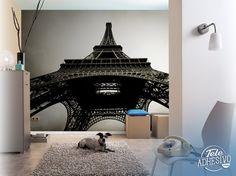 Fotomurales: Torre Eiffel. Contrapicado. Vista desde debajo de la Torre Eiffel. #parís #ciudad #decoración #pared #TeleAdhesivo Bedrooms, Bedroom Decor, Home Decor, Decorating Bedrooms, Tour Eiffel, Towers, Vinyls, Cities, Fotografia