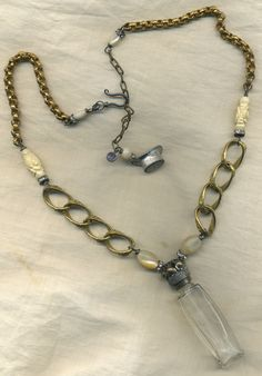 perfume bottle necklace inspiration