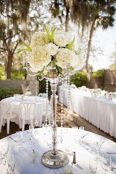 One of my centerpieces at my wedding