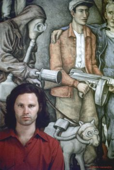 Jim Morrison photographed by Frank Lisciandro. Mexico City, 1969.