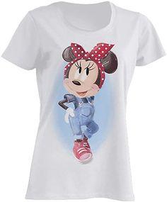 Disney Womens T-Shirt Minnie Mouse Pin Up Movie T Shirts, Boys T Shirts, T Shirts For Women, Lion King Movie, Disney Lion King, Minnie Mouse, Shops, Disney Frozen Elsa, Tops For Leggings