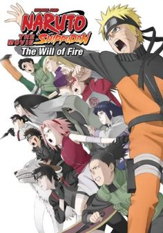Naruto: Shippuden Movie 3 DVD: The Will of Fire (Hyb) #RightStuf2013