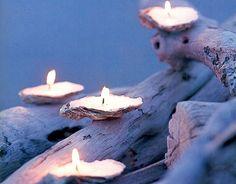 Conchiglie candele