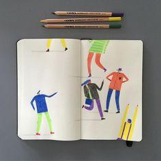 Happy Friday 🌿 . . . . #artwork #art #artist #bestoftheday #book #creative #design #happy #happyfriday #instagram #instamood #instadaily #instaart #illustrator #illustration #illustree #illustrationartists #like #melbourne #markconlan #print #picame #sketch #sketchbook