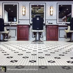 Wake Up and Smell the Barbicide Barber Shop Interior, Barber Shop Decor, Salon Interior Design, Salon Design, Barbershop Design, Barbershop Ideas, Barber Shop Quartet, Best Barber, Hair Shop