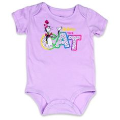 5c574175c Dr Seuss The Cat In The Hat Lilac Infant Creeper Boys And Girls Clothes,  Baby