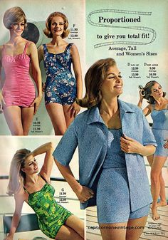 montgomery ward 1967 summer sale catalog. swimsuits!