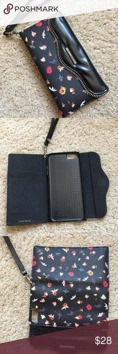 Rebecca Minkoff iPhone 📱 6 plus case Gently used Rebecca Minkoff IPhone 6 Plus Floral case Rebecca Minkoff Accessories Phone Cases