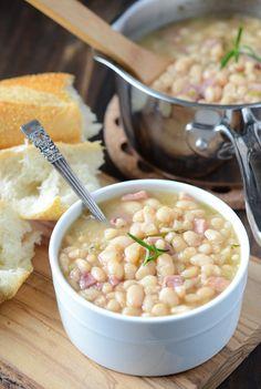 Rosemary Ham Bean Soup
