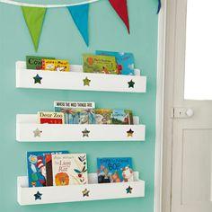 Great Little Trading Co Star Book Ledge - ShopStyle Storage & Shelving Bookshelf Storage, Bookshelves Kids, Kids Storage, Toy Storage, Wall Shelves, Book Shelves, Bookcases, Mounted Shelves, Storage Ideas
