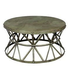 Shop for Wanderloot Truss Green Distressed Industrial Metal Coffee Table (India). Get free delivery at Overstock.com - Your Online Furniture Destination! Get 5% in rewards with Club O!