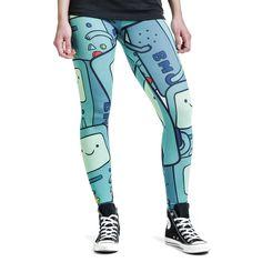 """Leggings """"BMO"""" del brand #AdventureTime."""