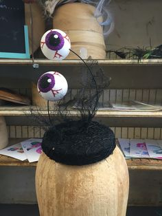 Eye On You sequin cocktail hat for Halloween