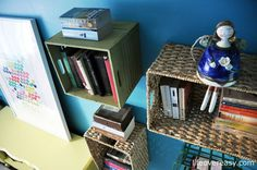 Daniela Duriavig of the fantastic blog Life Over Easy used HomeSense storage baskets in a creative space saving way to decorate her daughters bedroom.  For more lifestyle inspiration follow her on Twitter and Pinterest @ lifeovereasy