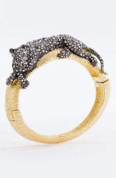 Alexis Bittar 'Elements - Siyabona' Panther Hinged Bracelet