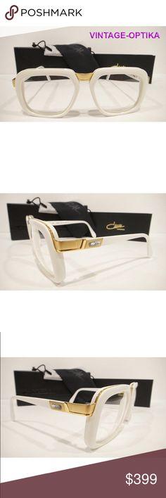 fcf64491966c CAZAL 616 EYEGLASSES LEGEND WHITE GOLD NEW These are 100% Genuine