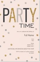 Get inspired by 151 professionally designed Teen Birthday Invitations & Announcements templates. Customize your Invitations & Announcements with dozens of themes, colors, and styles to make an impression. 25th Birthday Parties, 21st Birthday Invitations, Teen Birthday, Anniversary Parties, 50th Party, Birthday Celebration, Birthday Ideas, Happy Birthday, Glitter Invitations