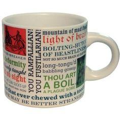 Shakespeare Insults Kaffeetasse