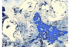 Deb Haugen, Blue Bird Scares 3 Ghosts on OneKingsLane.com