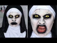 The Conjuring 2 Valak Nun ♡ SFX Halloween Makeup Tutorial                                                                                                                                                                                 More