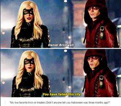 Arrow - Laurel & Roy #3.12 #Season3