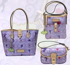 New Dooney & Bourke bags just for the #TinkerBellHalf #runDisney