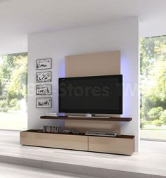 This Maya Entertainment Unit by ESF Furniture offers a contemporary look with a clean uncluttered design and functionally multipurpose structure. Crafted from durable wood, wood products and veneers. Made in Spain.