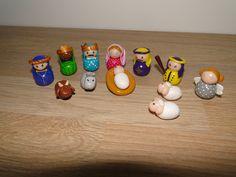 Crèche de Noël en pâte polymère : Accessoires de maison par jacotteetcie