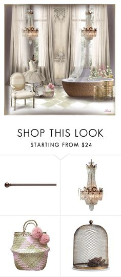 """""""Romantic"""" by lenadecor ❤ liked on Polyvore featuring interior, interiors, interior design, home, home decor, interior decorating, Umbra, Arteriors, Decor Walther and InnerSpace Luxury Products"""