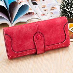[US$7.99] Fashion High Quality PU Leather Women Long Wallet Handbag Card Holder Coin Purse #fashion #high #quality #leather #women #long #wallet #handbag #card #holder #coin #purse