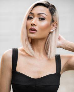 micah gianneli - Highlighter on high ✨  Hair @freedomcouture Eyes @zoevacosmetics 'Nude Spectrum' palette Lashes @lillylashes 'Cannes' Cheeks #ZoevaCosmetics 'Nude Spectrum' Lips @maccosmetics 'Mocha'