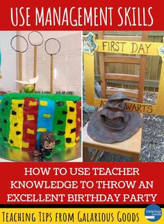 How to Use Teacher Knowledge to Throw an Excellent Birthday Party. Explore how teacher skills helped me throw an amazing Harry Potter birthday party for my son and his friends. Teaching Strategies, Teaching Tips, Handwriting Recognition, Science Equipment, Call And Response, Sticky Labels, Effective Learning, Report Writing, Classroom Organisation