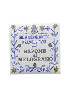 Santa Maria Novella - Melograno (Pomegranate) Soap -- the only comment that IS mine on the page -- I love this stuff !