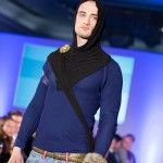 """The medieval hoodie, worn by the welcoming """"guard"""" at LCF in Oslo, August 2014."""