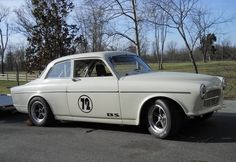1967 Volvo 122 Vintage Race Car For Sale Front
