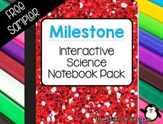 FREE Milestone Celebration Interactive Science Notebook Pack (light climate zones fossils lunar cycle hours of daylight nervous system learned behaviors and inherited traits and life cycle wheels) 4th Grade Science, Science Curriculum, Kindergarten Science, Teaching Science, Science Education, Science Fun, Science Ideas, Teaching Ideas, Graphing Activities