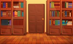 Cartoon library interior, vector illustr... | Premium Vector #Freepik #vector #wood #paper #cute #science Scenery Background, Background Drawing, Cartoon Background, Animation Background, Episode Backgrounds, Anime Backgrounds Wallpapers, Pretty Wallpapers, Paris Wallpaper, Scenery Wallpaper