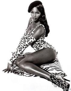 Naomi Campbell la venere nera