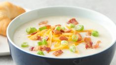 Instant Pot™ Loaded Baked Potato Soup Load up your Instant Pot™ with this easy potato soup for a dinner that's quick, tasty and guaranteed to please. Instant Pot Pressure Cooker, Pressure Cooker Recipes, Slow Cooker, Best Instant Pot Recipe, Instant Pot Dinner Recipes, Korma, Biryani, All You Need Is, Soup Recipes