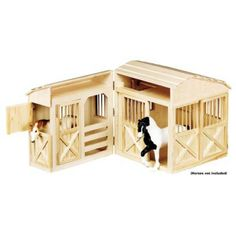 Melissa & Doug® Folding Horse Stable $75