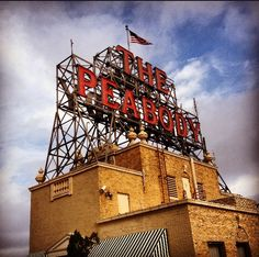 The Peabody Hotel in Memphis!