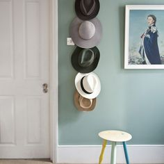 Flur Diele Wohnideen Möbel Dekoration Decoration Living Idea Interiors home corridor - Quirky Flur-Display